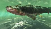 Requin xenacanthus modélisé