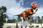 Dinosaure théropode Arcovenator, Michel Fontaine