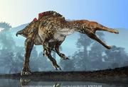 dinosaure théropode ichthyovenator, Michel Fontaine