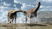 dinosaure, sauropode, ampelosaure, crétacé, Michel Fontaine