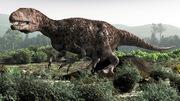 Dubreuillosaurus, dinosaure, théropode, normandie, paleospace, Michel Fontaine