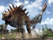lexovisaurus, Ornithischia, dinosaure, Thyreophora, Michel Fontaine